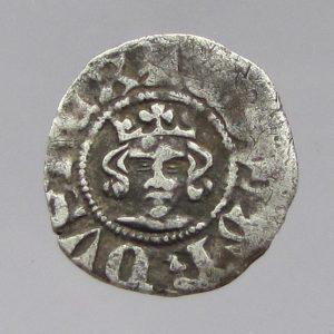 Edward III AR Half Penny, Reading Mint, 1327-1377AD-0