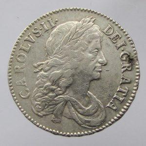 Charles II Silver Half Crown 1660-1685AD-0