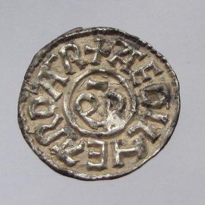 Aethelheard Silver Penny 798-800AD with Coenwulf as Overlord-0