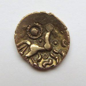 Celtic Gold Quarter Stater Dobunni Corio 20BC-5AD -3995