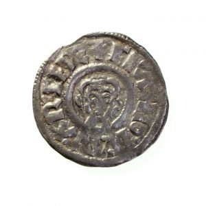 Ceolnoth Silver Penny 833-870AD Group I -11398