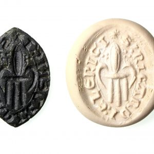 Medieval 15th Century Seal Matrix S'Ricardi: Clerici-19444
