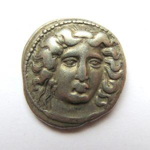 Thessaly, Larissa AR Teradrachm 400-344BC-5127