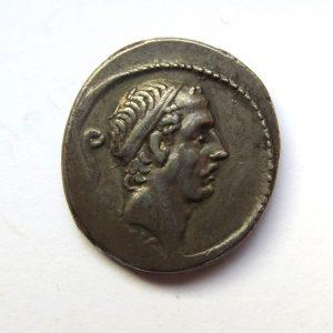 L. Marcius Philippus Silver Denarius 56BC-0