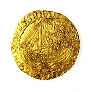 Henry VI AV Half Noble 1422-1461AD Annulet Issue -17460