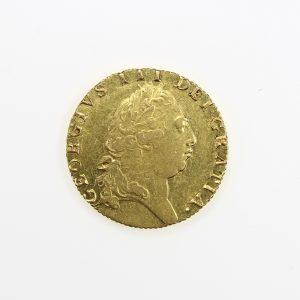 George III Gold Guinea 1760-1820AD 1793AD-11006