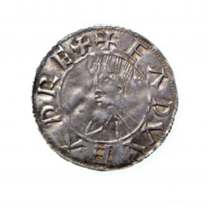 Kings of Wessex Edward The Elder Silver Penny 899-924AD-11404