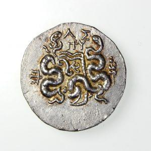 Mysia, pergamon Silver Tetradrachm 166-67BC-18260