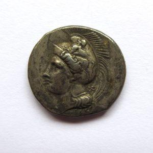 Lucania. Velia Silver Didrachm 334-300BC -7207