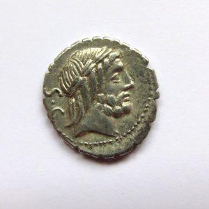 Q. Antonius Balbus Silver Denarius 83BC -7484
