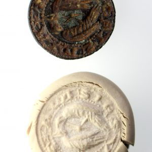 Medieval Seal Matrix 14th/15th Century AD-15219