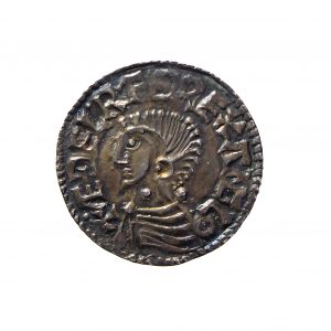 Aethelred II Silver Penny 978-1016AD Exeter-11467
