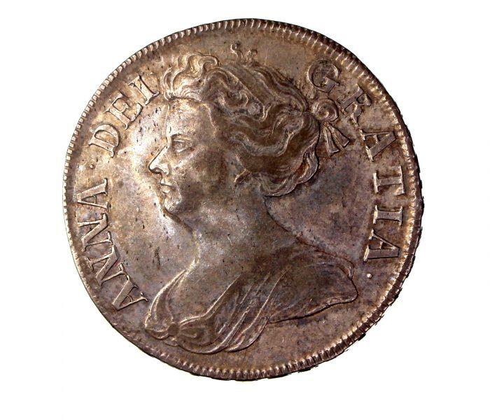 Anne Silver Halfcrown 1712AD NEF-17455