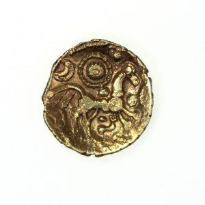 Dobunni, Uniscribed Gold Quarter Stater 50-25BC -11430