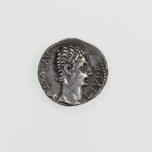 Augustus Silver Denarius 27BC-14AD-10821