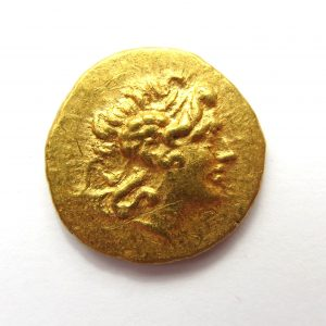 Kingdom of Thrace Lysimachos Gold Stater 2nd-1st Century BC-9039