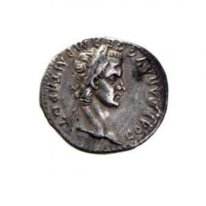 Caligula Silver Denarius 37-41AD-0