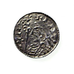 Cnut Silver Penny 1016-1035AD Shaftsbury-11463