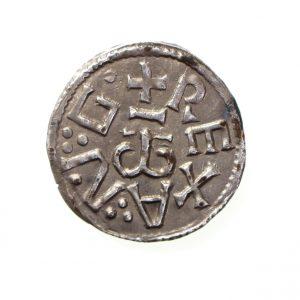 Kings of East Anglia Aethelstan I Silver Penny 825-840AD-11396
