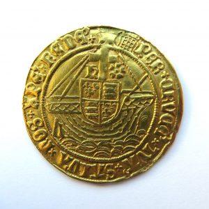 Henry VIII Gold Angel 1509-1547AD-9751