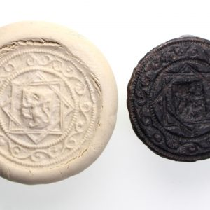 15th Century Seal Matrix Star of David-15223