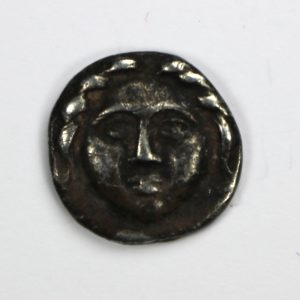 Thrace Apollonia Pontika Silver Diobol Late 5th-4th Century BC-10360