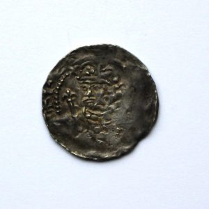 Henry I Silver Penny Type XV 1100-1135AD Gloucester Mint Rare-10349