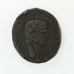 Claudius Bronze Sestertius 41-54AD -10713