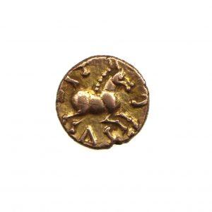 Catuvellauni Tasciovanus Gold Quarter Stater 25BC-25AD-11342