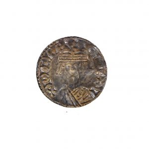 William I Silver Penny 1066-1087AD Bonnet Type Stamford -11232