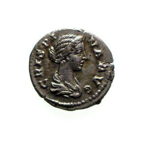 Crispina Silver Denarius w. of Commodus 177-192AD-11522