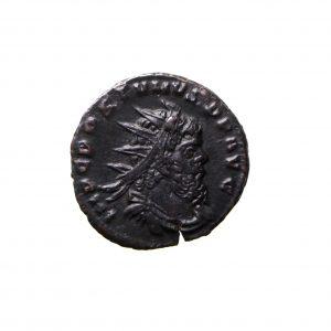 Postumus Bronze Antoninianus 259-268AD Hercules -11528