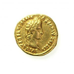 Augustus Gold Aureus 27BC-14AD Lugdunum-11534