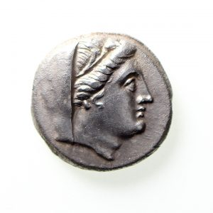 Thrace Byzantion Silver 9 Obols 240-220BC Antipater magistrate-11564