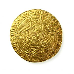 Henry VI Gold Noble 1422-1461AD Annulet Issue -11951