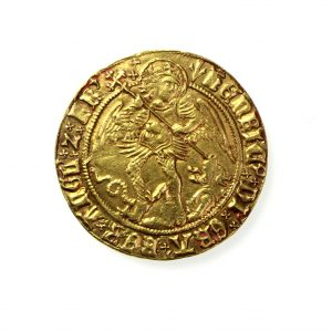 Henry VII Gold Angel 1485-1509AD-11954