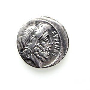 M. Nonius Sufenas Silver Denarius 57BC -12001