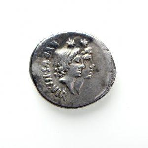 M. N Cordius Rufus Silver Denarius 46BC -12004