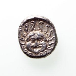 Apollonia Pontika Silver Drachm Circa 400BC -12189