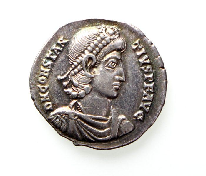 Constantius II Silver Siliqua 337-361AD-12216