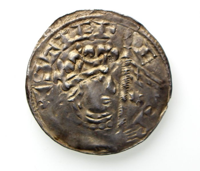 Stephen Silver Penny 1135-1154AD Flag Type York Series -12470