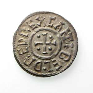 Kings of Kent Baldred 823-825AD Silver Penny Exceptional-12611