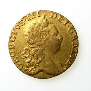 George III Gold Guinea 1760-1820AD 1769AD-12672