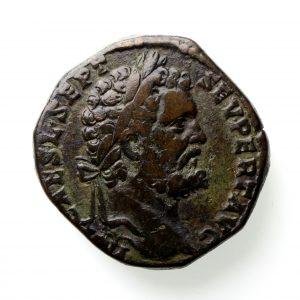 Septimius Severus Bronze Sestertius 193-211AD-12685