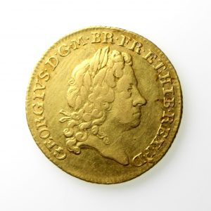 George I Gold Guinea 1714-1727AD 1715AD 2nd Bust -12992