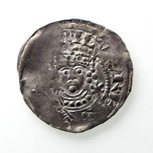 Henry I Silver Penny 1100-1135AD Quatrefoil Type Shaftsbury Mint - Rare-12878