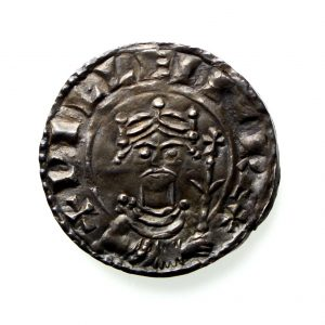 William I Silver Penny 1066-1087AD Paxs type, Shaftsbury mint - Rare-12883