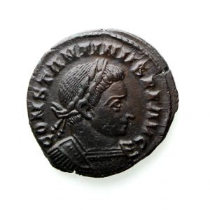 Constantine I Bronze Follis 307-337AD London exceptional -13082