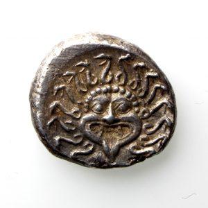 Apollonia Pontika Silver Drachm Circa 400BC -13142