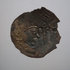 Angevin Silver Penny 1139-1183AD-13646